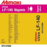 Чернила Mimaki LF-140 UV LED curable ink (Magenta), 600ml