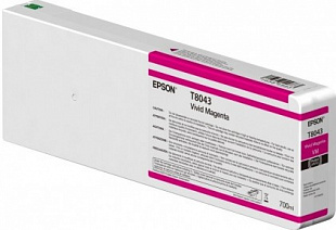 Картридж Epson T8043 Ultrachrome HDX (magenta) 700 мл