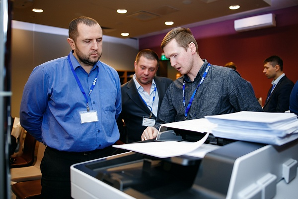 21 февраля в отеле Mercure прошла презентация МФУ Epson WorkForce Enterprice