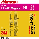 Чернила Mimaki LF-200 UV LED curable ink (Magenta), 600ml
